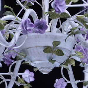 Żyrandol Provence Flora 8 Biały - 421014308 small 11