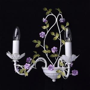Kinkiet Provence Flora 2 Biały - 421024502 small 1