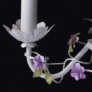 Kinkiet Provence Flora 2 Biały - 421024502 small 5