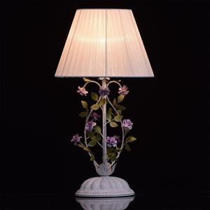 Lampa Stołowa Provence Flora 1 Biały - 421034601 small 2