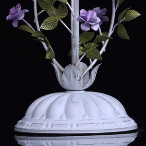 Lampa Stołowa Provence Flora 1 Biały - 421034601 small 7