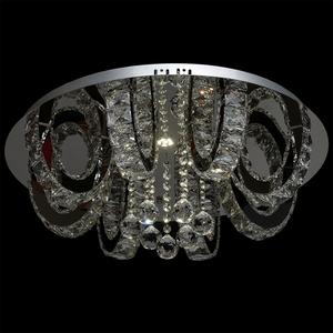 Lampa wisząca Clarissa Crystal 3 Srebrny - 437012311 small 3