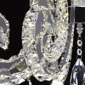Lampa wisząca Clarissa Crystal 80 Chrom - 437012708 small 3