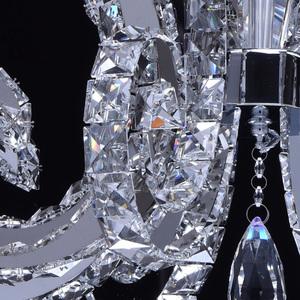 Lampa wisząca Clarissa Crystal 80 Chrom - 437012708 small 4