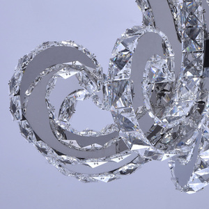 Lampa wisząca Clarissa Crystal 80 Chrom - 437012708 small 10