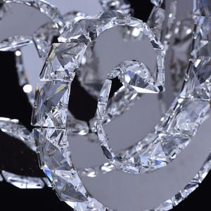 Lampa wisząca Clarissa Crystal 80 Chrom - 437012708 small 12