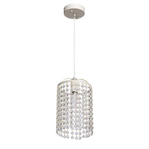 Lampa wisząca Venezia Crystal 1 Biały - 464016801