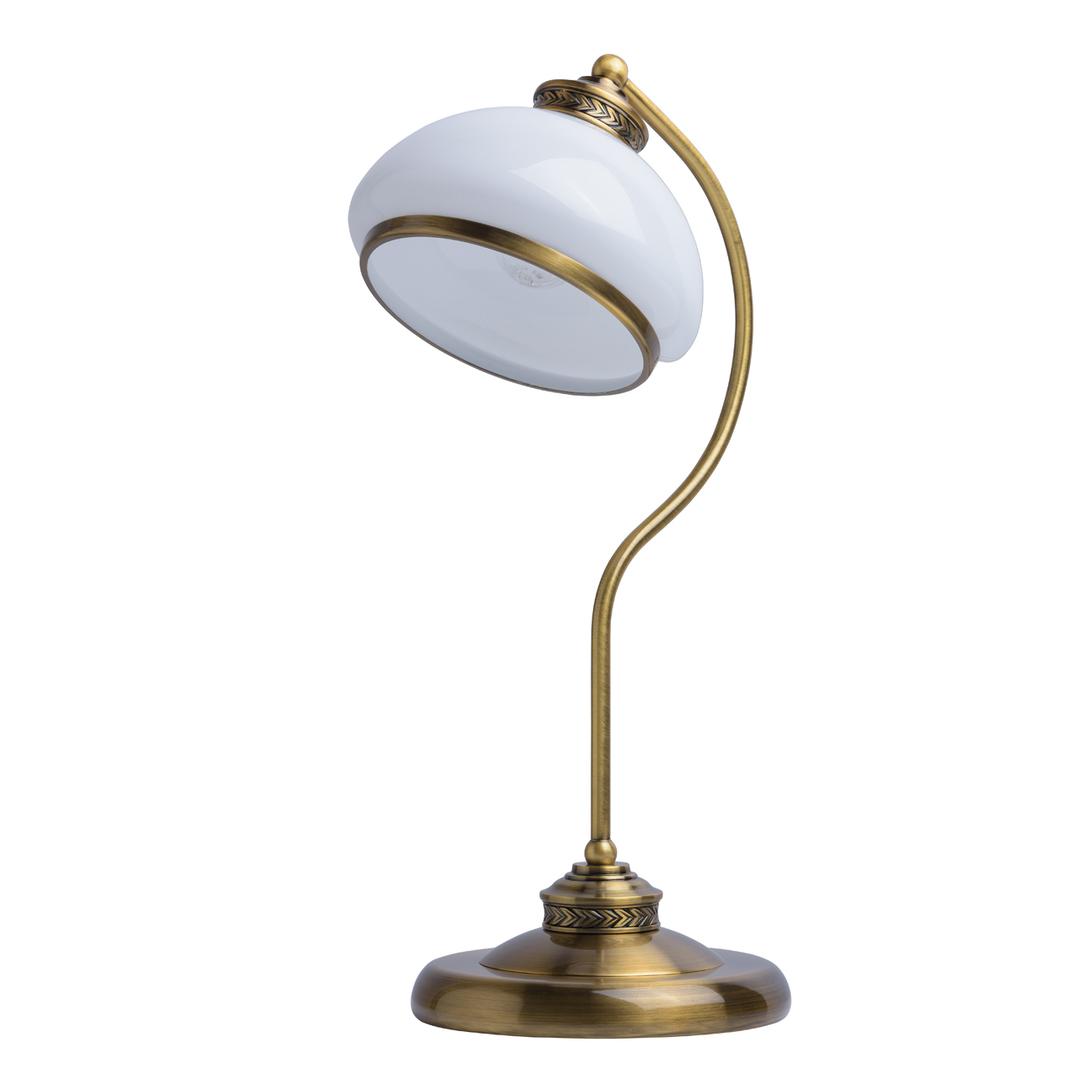 Lampa Stołowa Amanda Classic 1 Mosiądz - 481031301