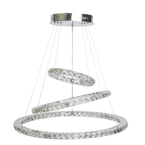 Lampa wisząca  Crystal 144 Chrom - 498011903