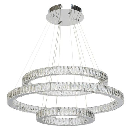 Żyrandol Goslar Crystal 184 Chrom - 498012003