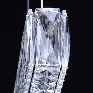 Lampa wisząca Goslar Crystal 180 Chrom - 498012801 small 9
