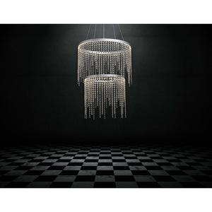 Lampa wisząca Wasserfall Hi-Tech 62 Srebrny - 617010302 small 2