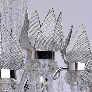 Żyrandol Lotus im Wasserfall Crystal 28 Chrom - 625010228 small 4