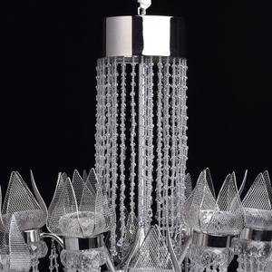 Żyrandol Lotus im Wasserfall Crystal 28 Chrom - 625010228 small 11
