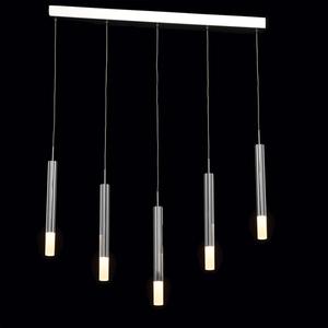 Lampa wisząca Stuttgart Hi-Tech 5 Chrom - 631012405 small 2