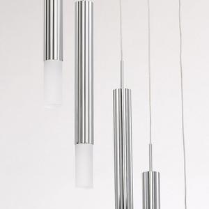 Lampa wisząca Stuttgart Hi-Tech 5 Chrom - 631012405 small 9