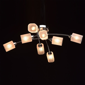 Lampa wisząca Olympia Megapolis 8 Chrom - 638011808 small 2