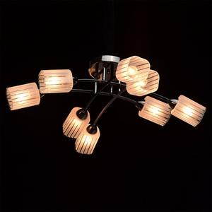 Lampa wisząca Olympia Megapolis 8 Czarny - 638011908 small 2