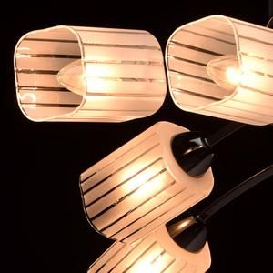 Lampa wisząca Olympia Megapolis 8 Czarny - 638011908 small 4