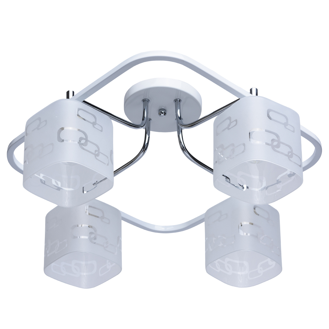 Lampa wisząca Alpha Megapolis 4 Biały - 673010304