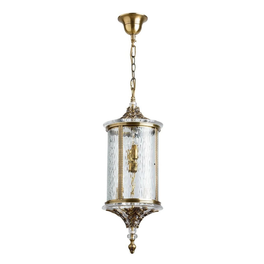 Lampa wisząca Corso Street 4 Mosiądz - 802011104