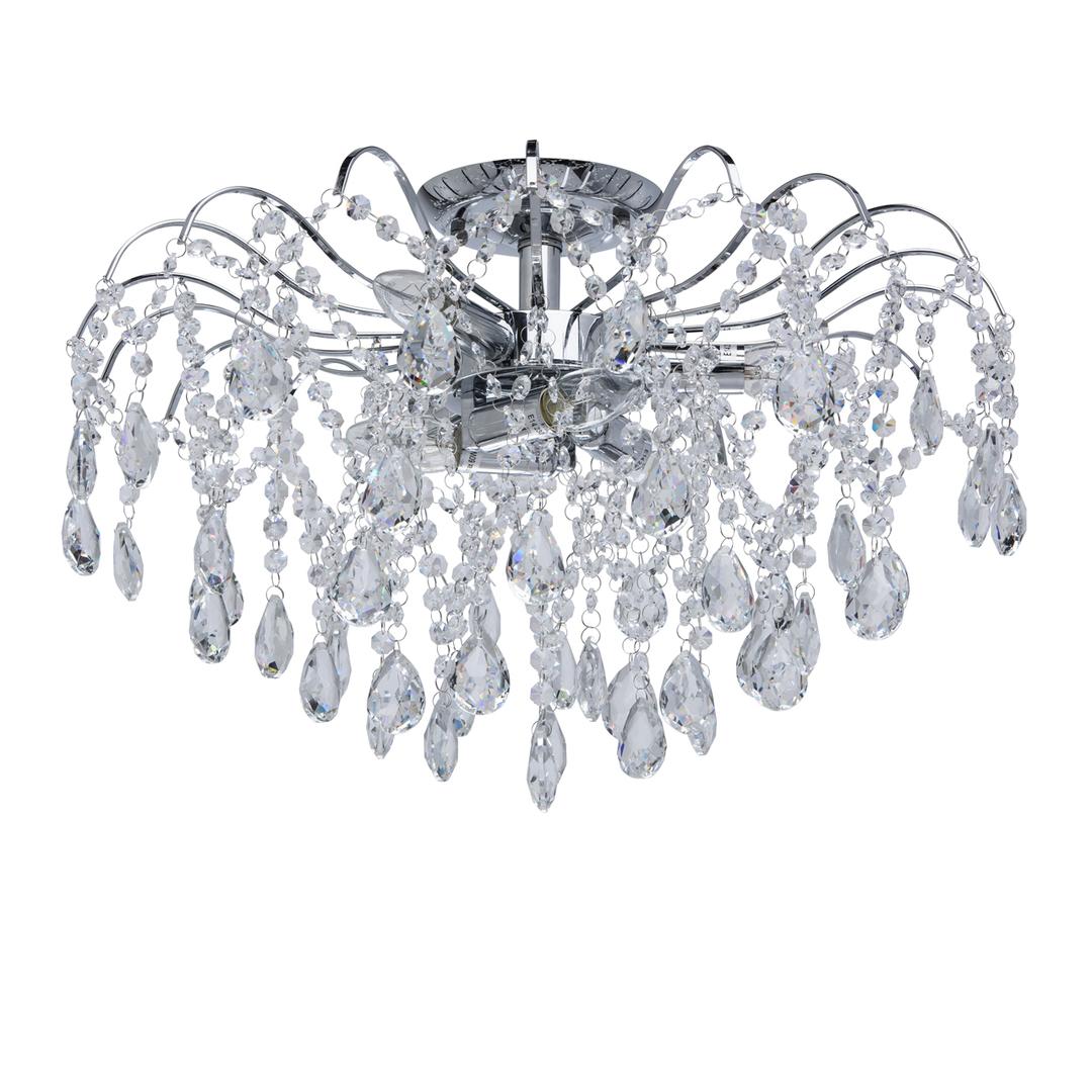 Lampa wisząca Venezia Crystal 6 Chrom - 464017306