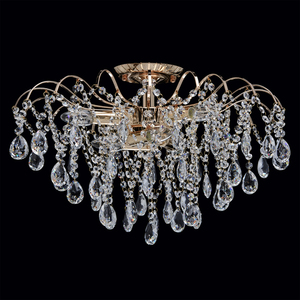 Lampa wisząca Venezia Crystal 6 Złoty - 464017406 small 1