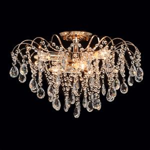 Lampa wisząca Venezia Crystal 6 Złoty - 464017406 small 2