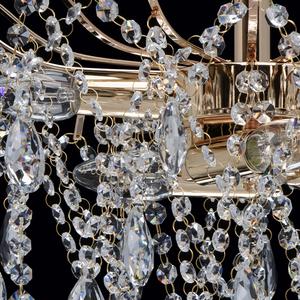 Lampa wisząca Venezia Crystal 6 Złoty - 464017406 small 7