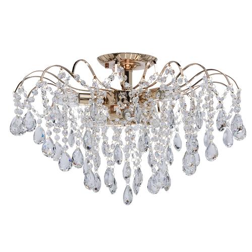 Lampa wisząca Venezia Crystal 6 Złoty - 464017406