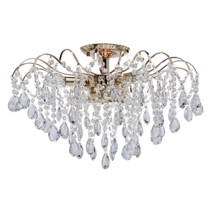 Lampa wisząca Venezia Crystal 6 Złoty - 464017406 small 0