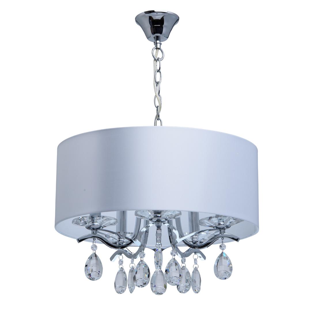 Lampa wisząca Nora Elegance 5 Chrom - 454010805