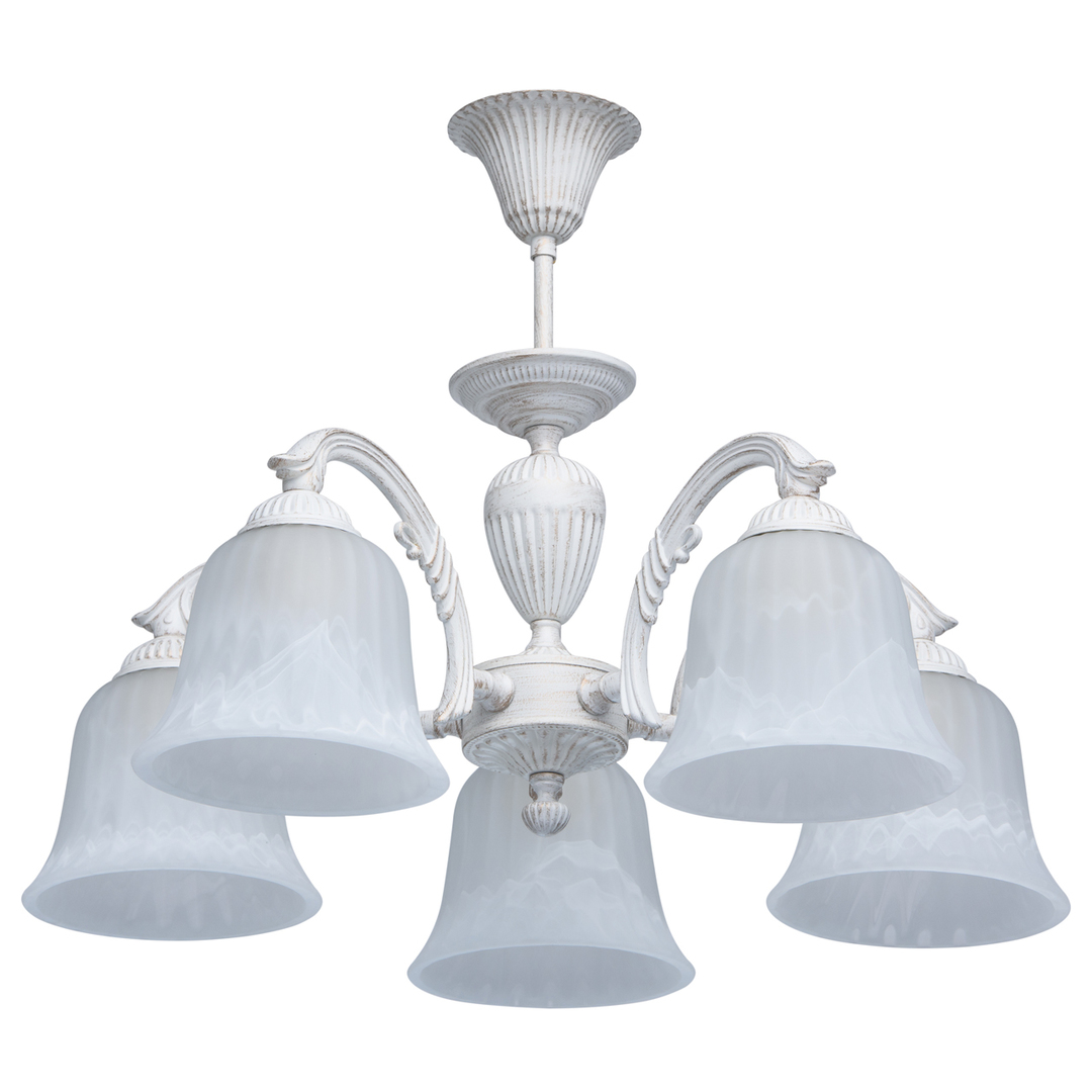 Lampa wisząca Ariadna Classic 5 Biały - 450014805