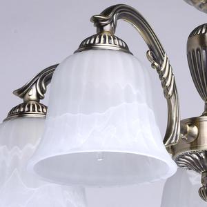 Lampa wisząca Ariadna Classic 5 Mosiądz - 450014605 small 3