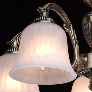 Lampa wisząca Ariadna Classic 5 Mosiądz - 450014605 small 4