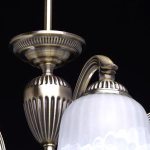 Lampa wisząca Ariadna Classic 5 Mosiądz - 450014605 small 7