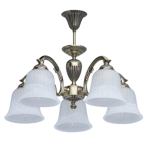 Lampa wisząca Ariadna Classic 5 Mosiądz - 450014605 small 0