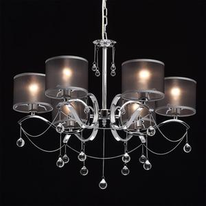 Lampa wisząca Federica Elegance 6 Chrom - 379019006 small 1