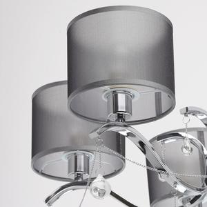 Lampa wisząca Federica Elegance 6 Chrom - 379019006 small 5