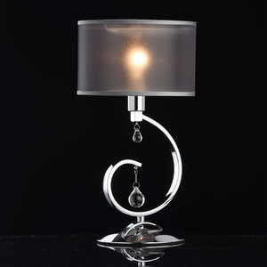 Lampa Stołowa Federica Elegance 1 Chrom - 379039401 small 1