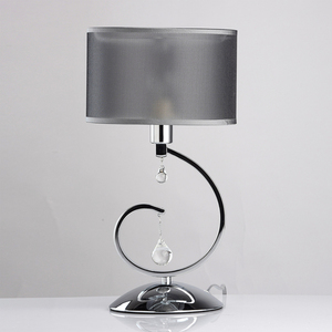 Lampa Stołowa Federica Elegance 1 Chrom - 379039401 small 2