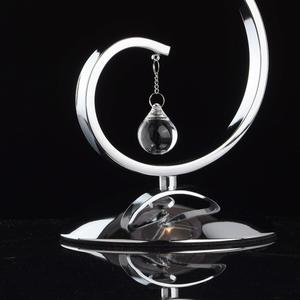 Lampa Stołowa Federica Elegance 1 Chrom - 379039401 small 4