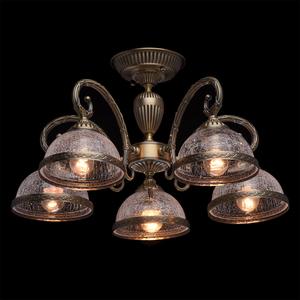 Lampa wisząca Amanda Classic 5 Mosiądz - 481011805 small 2