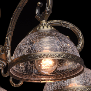 Lampa wisząca Amanda Classic 5 Mosiądz - 481011805 small 4