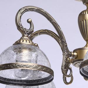 Lampa wisząca Amanda Classic 5 Mosiądz - 481011805 small 7
