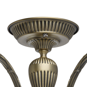 Lampa wisząca Amanda Classic 5 Mosiądz - 481011805 small 11