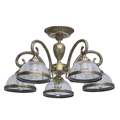 Lampa wisząca Amanda Classic 5 Mosiądz - 481011805
