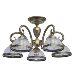 Lampa wisząca Amanda Classic 5 Mosiądz - 481011805 small 0