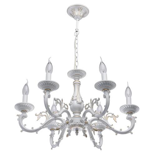 Lampa wisząca Aurora Classic 6 Biały - 371011206