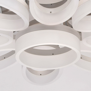 Lampa wisząca  Hi-Tech 8 Chrom - 661012509 small 4